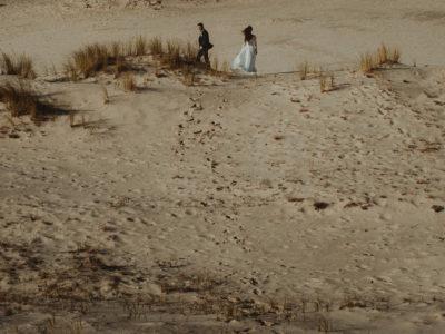 Sesja ślubna na wydmach